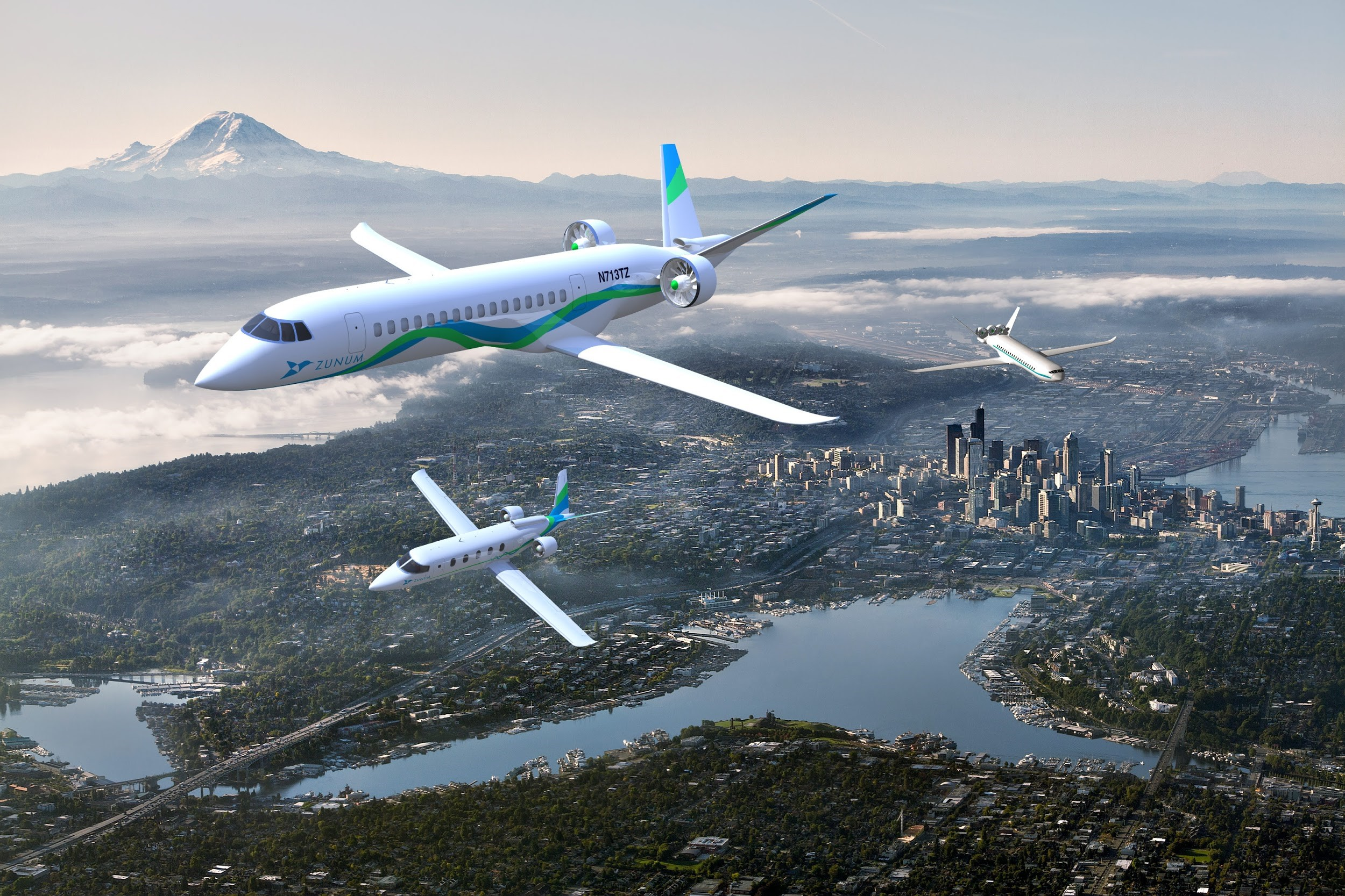 Vers l'avion plus électrique et hybride